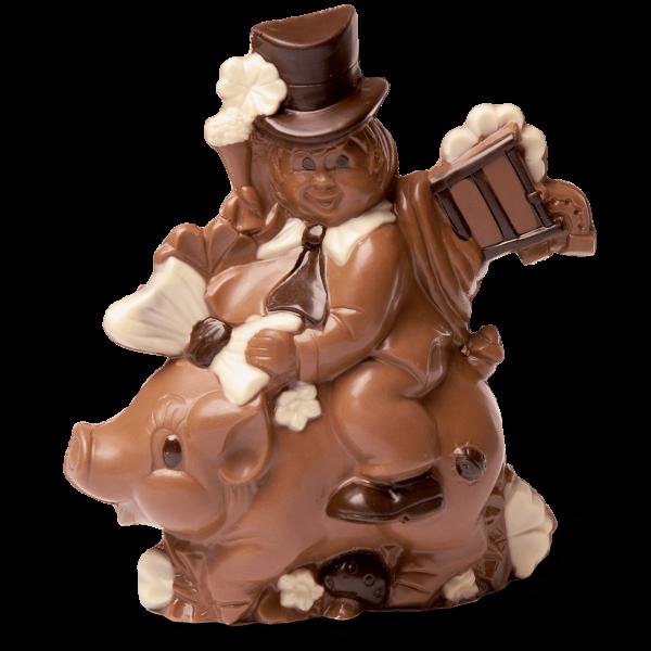Schornsteinfeger aus Schokolade