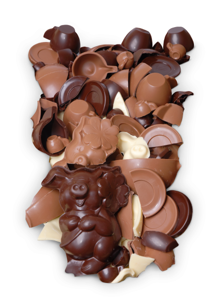 Schokoladenscherben weiße Schokolade 200g