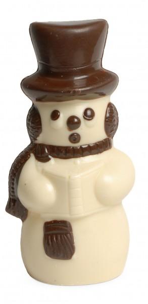 Schneemann aus Schokolade