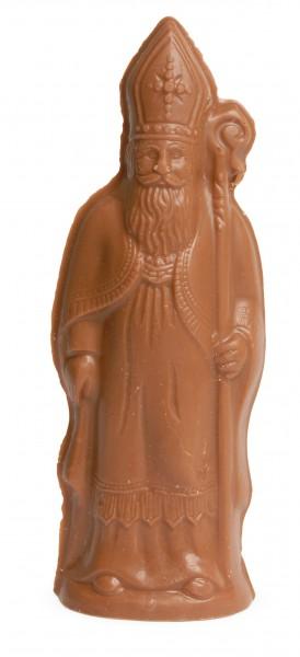 St. Nikolaus 110mm stehend aus Schokolade
