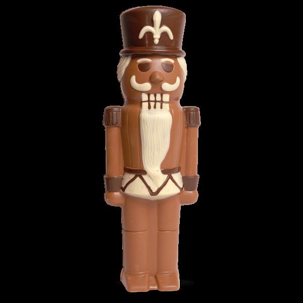 Nussknacker aus Schokolade