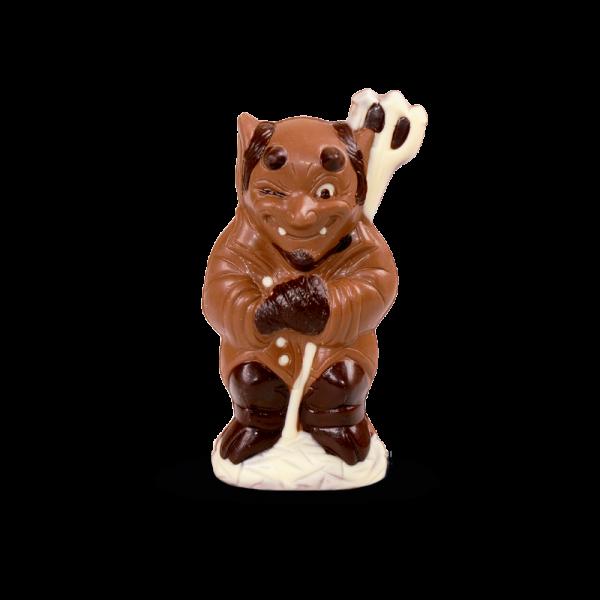 lustiger Schokoladensatan
