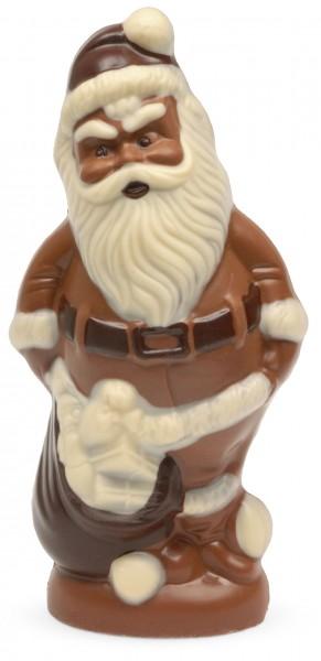 Weihnachtsmann dick aus Schokolade