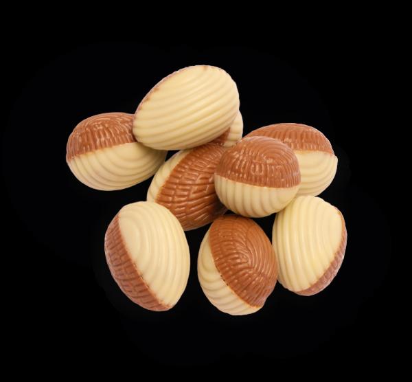 Ostereier mit Nougat gefüllt 100g