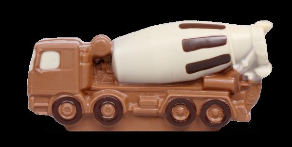 Fahrmischer aus Schokolade