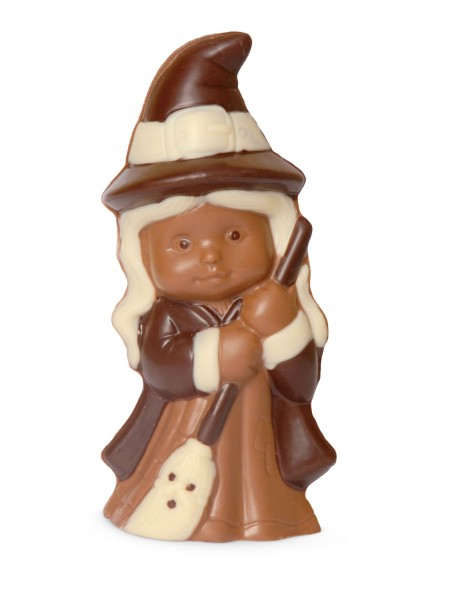 Hexe aus Schokolade