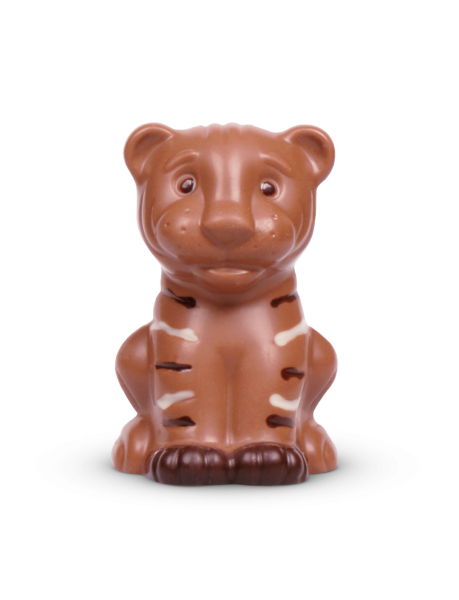 Tiger aus Schokolade