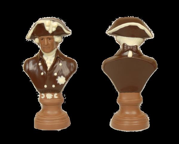 Friedrich der Große aus Bioschokolade