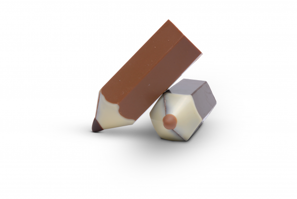 Bleistift aus Schokolade